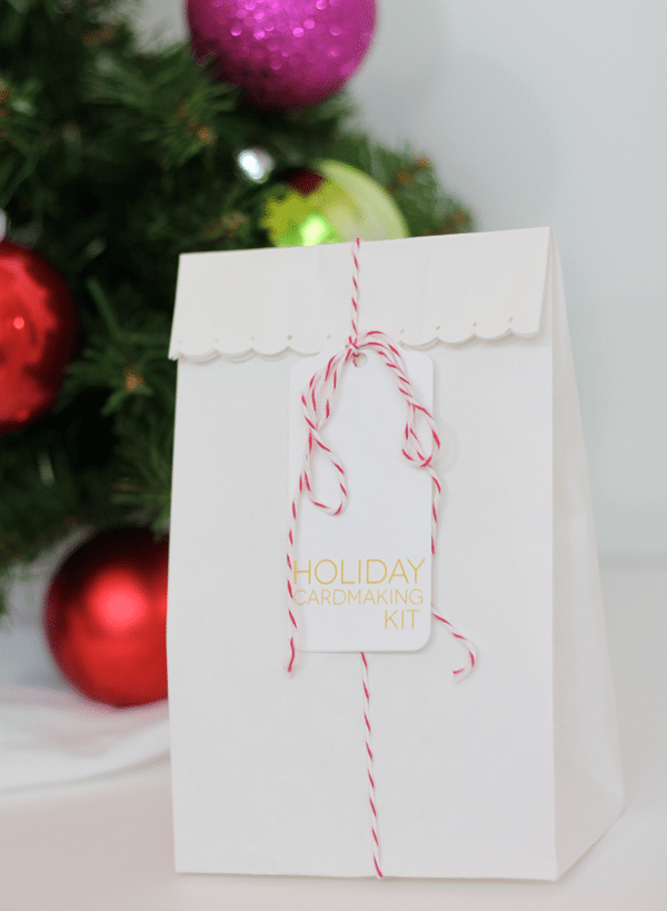 Holiday Card Kit Packaging