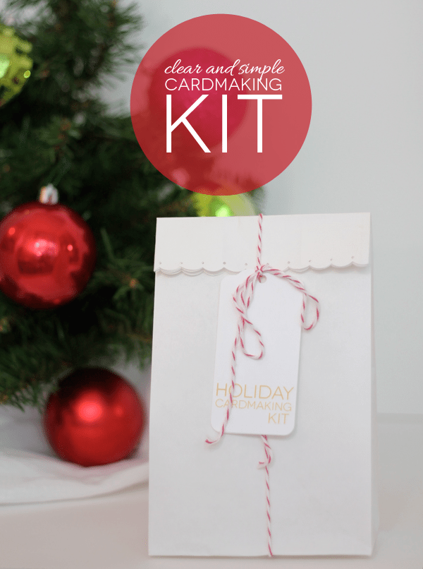Clear and Simple Cardmaking Kit