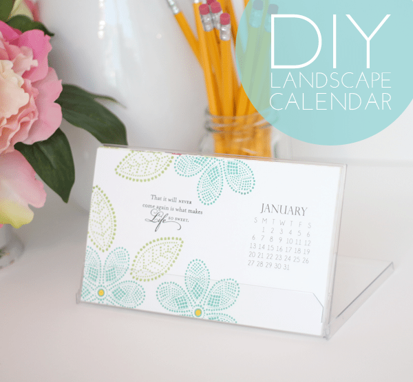 Landscape-Calendar-Header