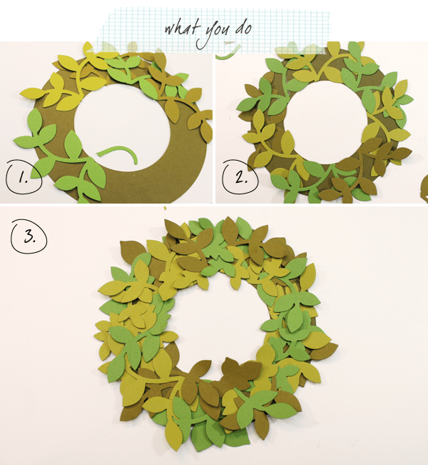 Wreath Calendar Instructions 1