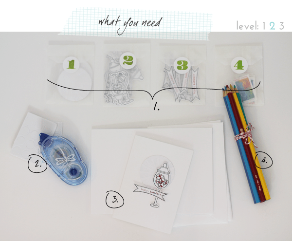 What-You-Need Holiday Card Making Kit