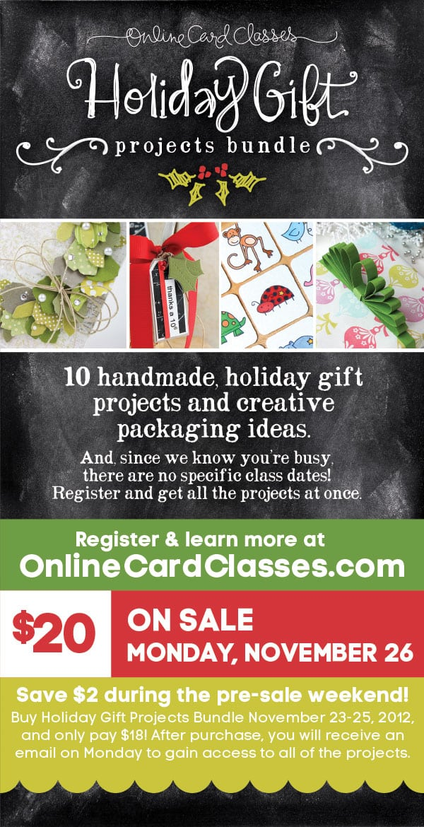 Holiday Gift Projects Bundle Giveaway