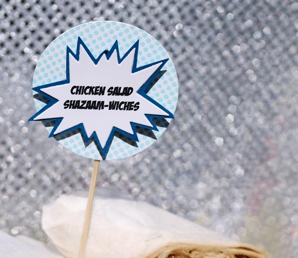 Chicken Salad Shazaam-Wiches