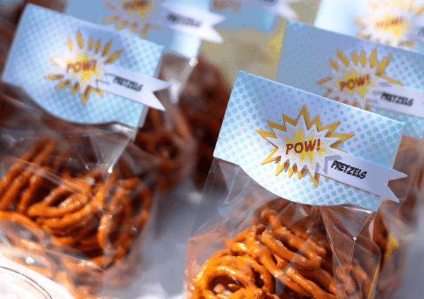 Pow Pretzels Packaging