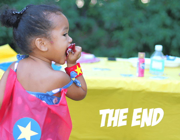 The End of the Superhero Picnic