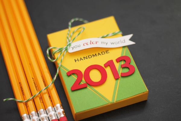 Crayon Box Calendar