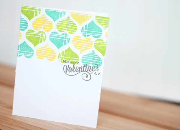 Avery Elle Lots of Love Card Blues | Damask Love Blog