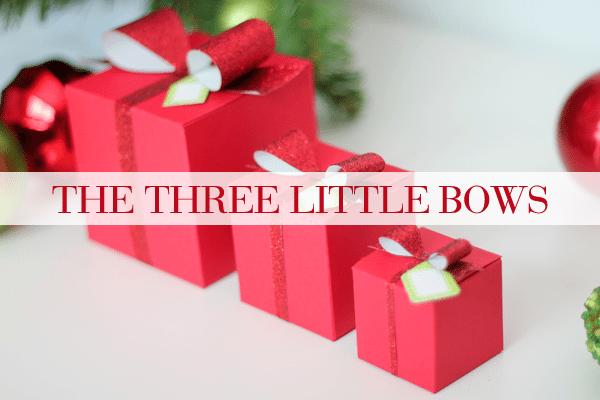 Three Sizes of Lil Inker Bow Dies