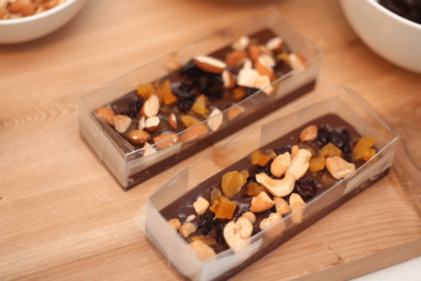 DIY Chocolate Bark with Toppings