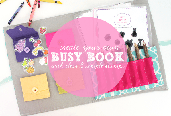 DIY Busy Book Header