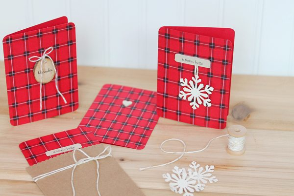 Buffalo Plaid Stationery Set