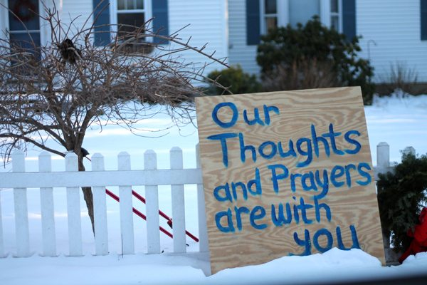 Signs of Support Sandy Hook 1