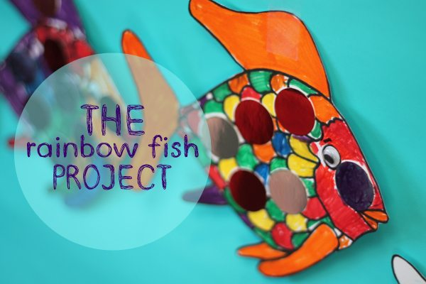 The Rainbow Fish Project in Newtown