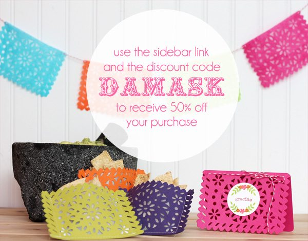 Lifestyle Crafts Doily Banner Die: Save 50% with DAMASK discount code