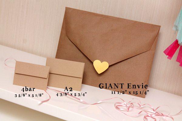 Giant Envelope Dimensions