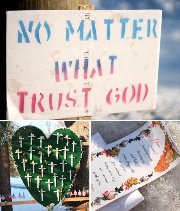 Signs of Support in Sandy Hook