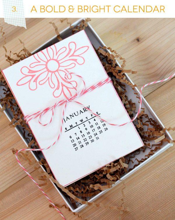 Bold & Bright Calendar