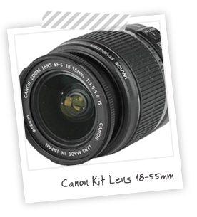 Equipment I Use: Kit Lens 18-55mm | Damask Love Blog