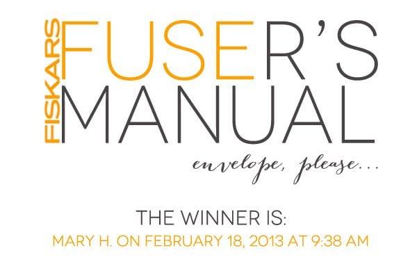 Fiskars Fuse: And the winner is…