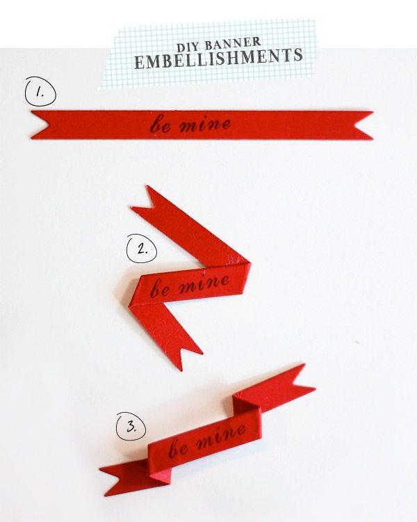 DIY Banner Embellishment