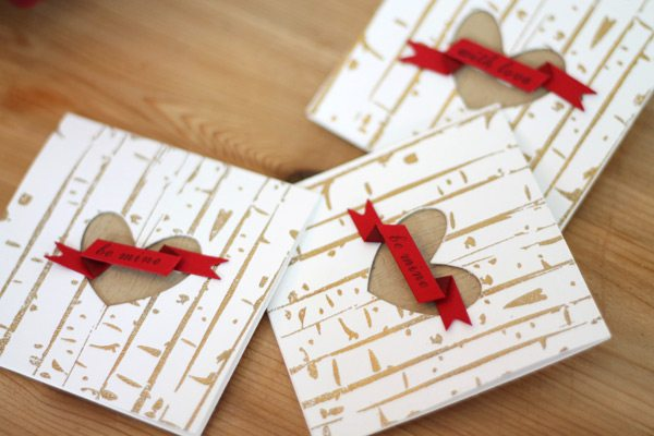 Carved from Love Card Set Trio
