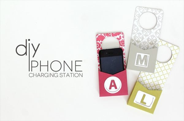 Cell Phone Charging Station Header