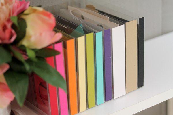 DIY Scrap Paper Library | Damask Love Blog