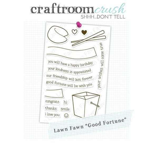 "Craftroom Crush: Lawn Fawn ""Good Fortune"" Stamp Set"
