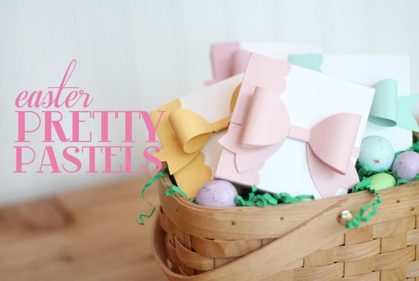 Easter Pretty Pastels with Bow | Damask Love Blog