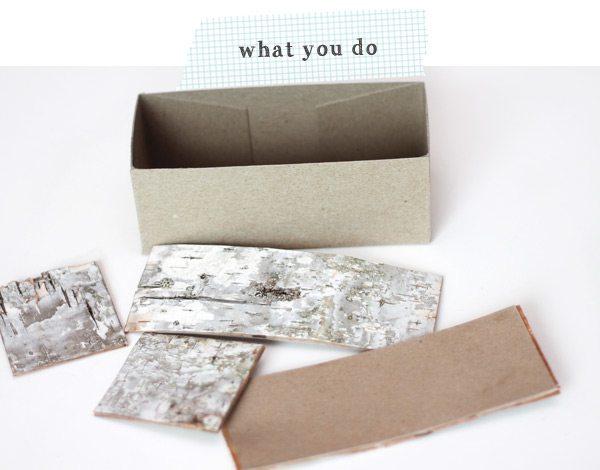 DIY Birch Bark Basket: What you Do | Damask Love Blog
