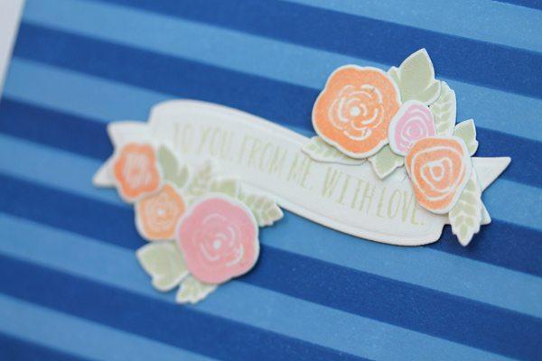 Design Inspired: Floral & Stripes Navy Close | Damask Love Blog