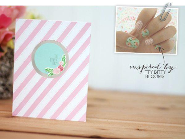 Design Inspired: Floral & Stripes Pink & Teal  | Damask Love Blog