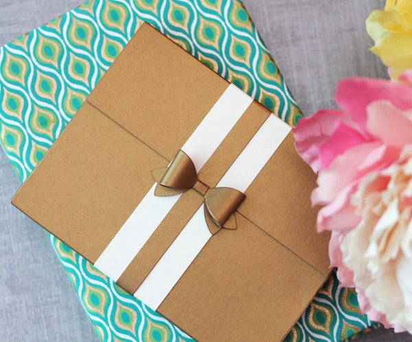 High Society Stationery Supplies: Embossed Border Notecards Packaged | Damask Love Blog