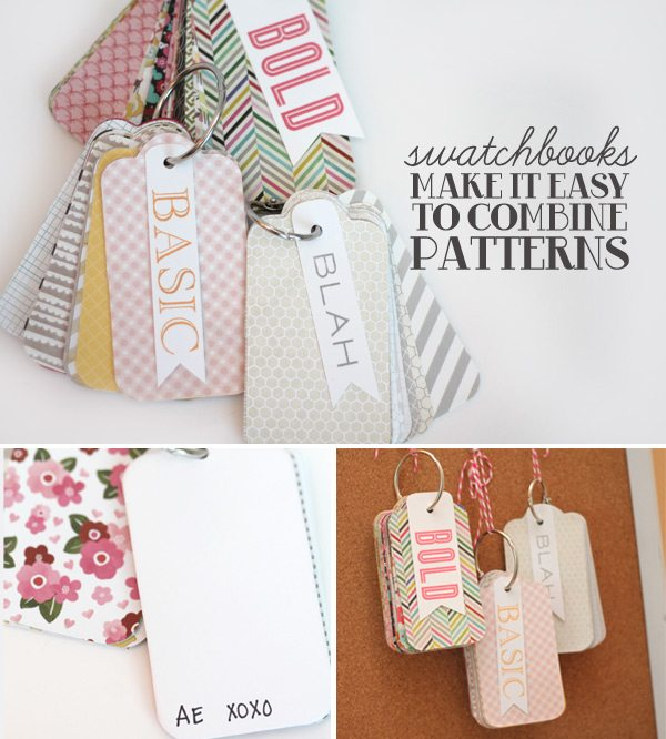 Patterned Paper Swatchbooks