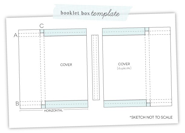 Monograms Made Easy: Booklet Box Template | Damask Love Blog
