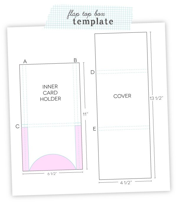 Flap Box Template | Damask Love Blog