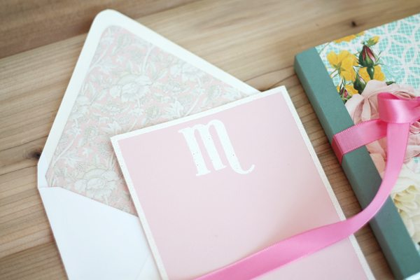 Monograms Made Easy: Modern Romance Tags & Packaging  | Damask Love Blog