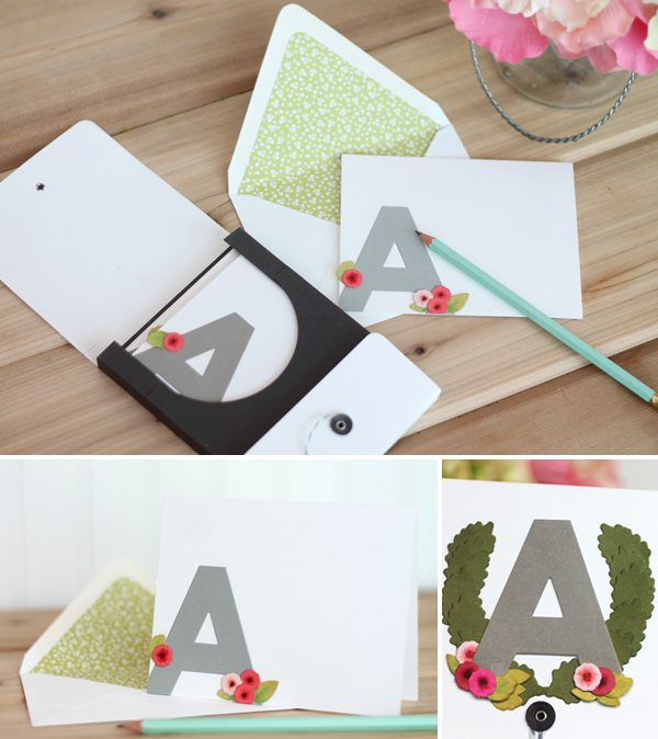 Introducing : Large Print Alphabet Dies | Damask Love Blog