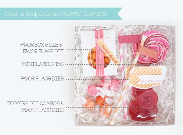 Handcrafted Candy Buffet in a Box | Damask Love Blog