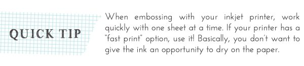 Inkjet Monogramming: Quick Tip | Damask Love Blog