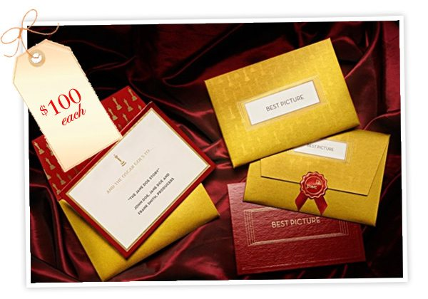 Oscar Envelopes High Society Stationery