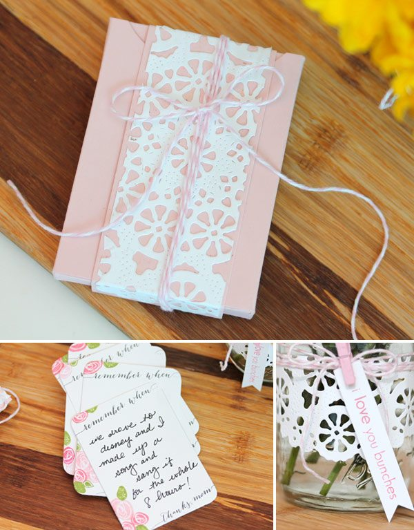 Clear & Simple Stamps Mother's Day Doilies | Damask Love Blog