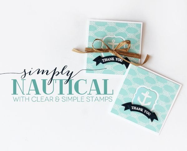 Style Watch: Simply Nautical Stationery
