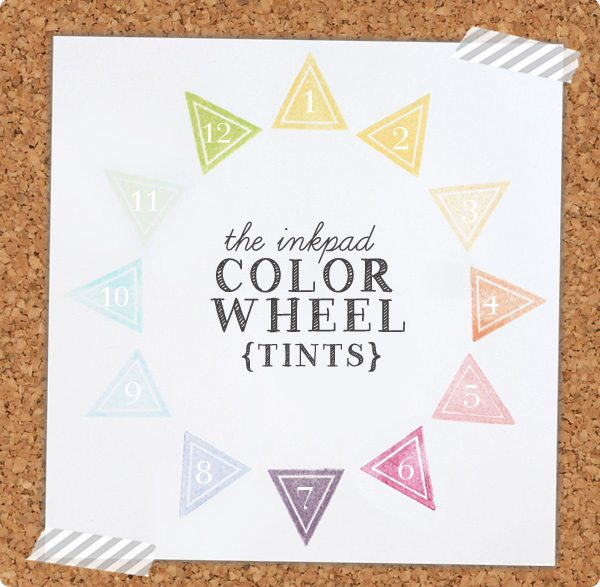 The Crafter's Color Wheel: Tints | Damask Love Blog