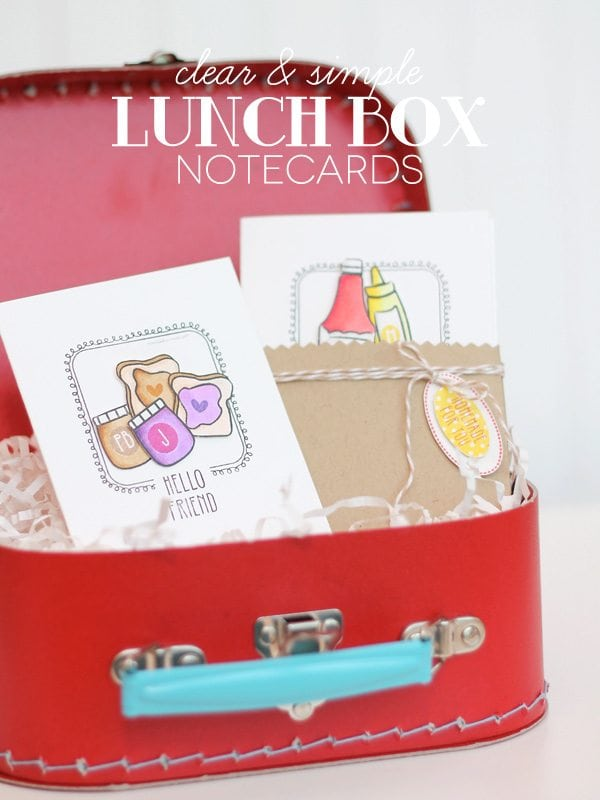 Style Watch: Lunch Box Notecards