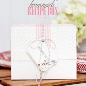 DIY Recipe Box Gift Set   Damask Love Live