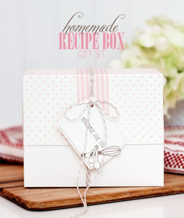 Style Watch: Recipe Box Gift Set