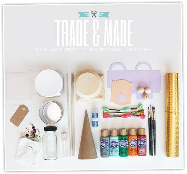 Trade & Made Craft Challenge Sneak Peek