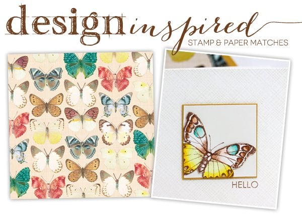 Design Inspired: Stamp & Paper Matches