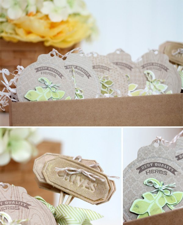 Paper Herb Garden in a Box   Damask Love Blog